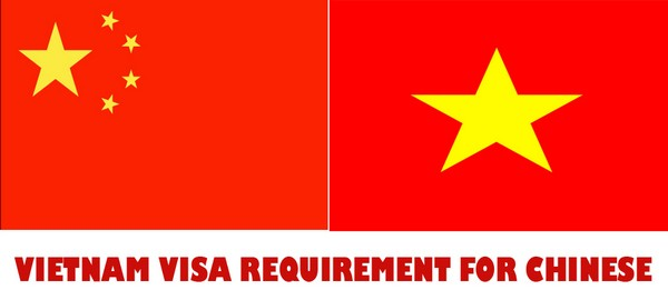 VIETNAM VISA REQUIREMENT FOR CHINESE