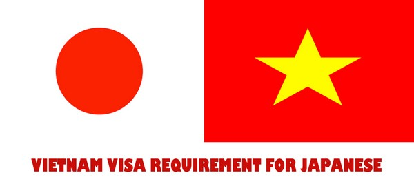 VIETNAM VISA REQUIREMENT FOR JAPANESE